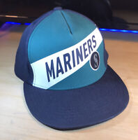 SEATTLE MARINERS - MLB - BOEING PROMO - ADJUSTABLE SNAPBACK BALL CAP HAT!