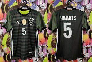 Germany Soccer National Team Mats Hummels #5 Football Shirt Jersey Mens Size XS