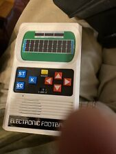 New ListingVintage Football Electronic Handheld Game Mattel Electronics Tested Works