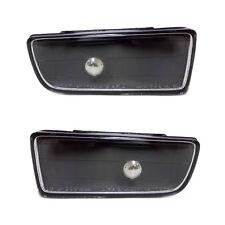 BMW E36 3 Series 1990-2000 DEPO Black Performance Front Fog Spot Lights Pair