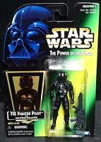 Star Wars Power of the Force TIE FIGHTER PILOT (Vintage 1997) New!