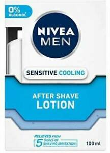 NIVEA MEN Sensitive Cooling After Shave Lotion 100 ml/3.38 oz - Free Shipping