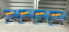 New Hot Wheels Motorcycles X-Blade,Rollin' Thunder,Ferenzo & Twin Flame.Lot 4.