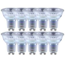 10 x PHILIPS MASTER LEDspot D 4.9-50w vetro LED gu10 927 36 ° Dimmerabile come 50w