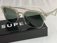 Retrosuperfuture 49er Crystal Frame Sunglasses SUPER 464 NIB