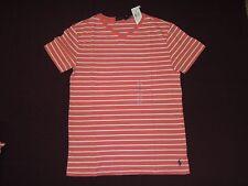 4280861d84 Ralph Lauren Polo Mens Short Sleeve Vneck Tee T-shirt Red Size Small