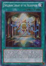 1x Spellbook Library of the Heliosphere - ABYR-EN087 - Secret Rare - 1st Edition