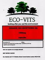 Organisches Sanddorn Öl 1000mg 365 Kapseln