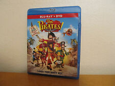 The Pirates! Band of Misfits Blu Ray / DVD - I combine shipping - 2 Disc Set