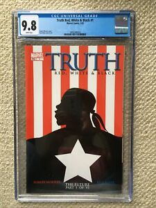 TRUTH: RED, WHITE AND BLACK #1 CGC 9.8 NM/MT HOT BOOK FALCON & WINTER SOLDIER