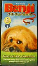 Benji Off the Leash Vhs Rules are Made to be Housebroken Family Entertainment