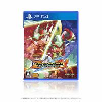 Rockman Megaman Zero ZX Double Hero Collection PS4 Soft