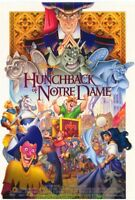 HUNCHBACK OF NOTRE DAME MOVIE POSTER N. Mint DS 27x40 DISNEY ANIMATION