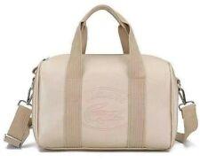 Original LACOSTE Doctor's Bag for Women Hand Bag Sling Bag Shoulder Bag Beige