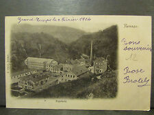 cpa 38 renage papeterie usine