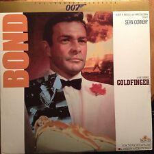 Goldfinger - The Connery Classics - James Bond 007  Laserdisc LD