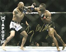 TYRON WOODLEY SIGNED 8x10 PHOTO PROOF COA AUTOGRAPHED UFC