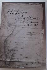 Histoire Maritime de l'Ile Maurice 1791-1815 ed. Jean M. Chelin Mauritius FRENCH