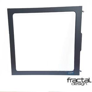 FRACTAL DESIGN FOCUS G LEFT SIDE WINDOW PANEL - BLACK. NEW