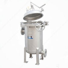 Multi-Bag Filter Stainless Steel Housing: Quick-Open Closure BFR