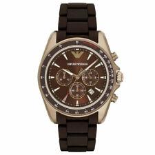 EMPORIO ARMANI AR6099 Sigma Chronograph Brown Dial Men's Watch