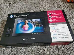 """HP DreamScreen 100 10.2"""" Screen Wireless NO Remote"""