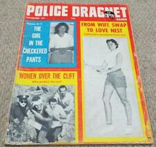 Police Dragnet - Vintage November 1959 Magazine - Detective True Crime