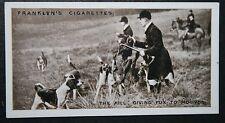 Warwickshire Foxhounds  at  Shuckburgh  Vintage 1920's Photo Card # VGC / EXC