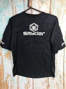Spyder Paintball Padded Armour Top Shirt Short Sleeve Size Large