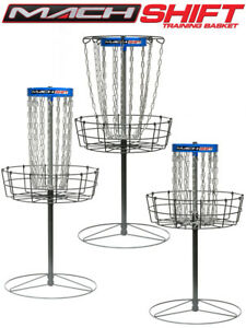 DGA Mach Shift 3-in-1 Disc Golf Basket DGPA Approved - Pick color Blue or White