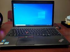 "Lenovo E530 15.6"" Laptop (Intel Core i3-2350M 2.3GHz, 4GB, 300GB HDD) Win10Pro"