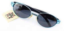 Jean Paul Gaultier Sunglasses Jpg Paris 58-7203 Oval Sunglasses Steampunk Blue