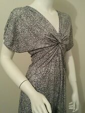 Ladies beautiful JUMP dress size small 8 10 black white formal work office