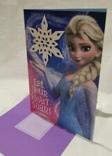 Disney Frozen Elsa Birthday Card HALLMARK GREETING CARD