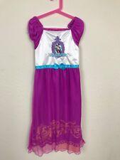 Ever After High Girl Dress Costume Madeline Halter Short Sleeve Sz L (10-12)