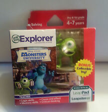 New Leap Frog Disney MONSTERS UNIVERSITY Game for LeapPad Tablet & LeapsterGS