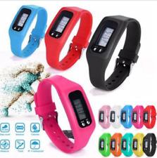 High Quality Run Step Pedometer Calorie Counter Digital LCD Bracelet Watch AU
