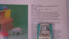 CORGI 309 ASTON MARTIN COMP 1962 PLAYWORN ORIGINAL CAR IN EXCELLENT REPRO BOX.