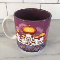 VINTAGE 90s Disney Aladdin 10oz Coffee Mug Cup EUC