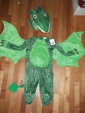 Pottery Barn Kids Dragon Costume 2PC Green 3T #42