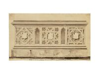 An Antique English Tomb Drawing