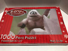 Abominable Snowman 1000-Piece Puzzle Rudolph the Red-Nosed Reindeer Christmas
