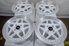 "15"" Wheels Prius Yaris Jetta Civic Accord Corolla Scion xA xB Cooper White Rims"