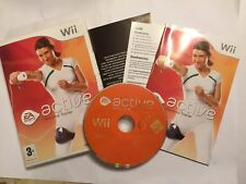 NINTENDO Wii EA SPORTS ACTIVE PERSONAL TRAINER +BOX INSTRUCTIONS COMPLETE PAL