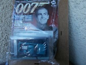 1/43 FORD RANCHERO-'GOLDFINGER'-NEW/SEALED WITH MAGAZINE/GREAT ITEM!
