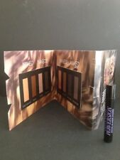 URBAN DECAY - NAKED 2 & 3 Peel-Off Sample Card & Mini Perversion Mascara Genuine