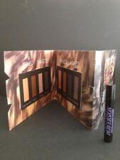 URBAN DECAY - NAKED 2 & 3 Peel-Off Sample Card & Mini Perversion Mascara Genuine