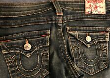 True Religion Joey Jeans 28 X 29 Womens Girls 26 Twisted Flare
