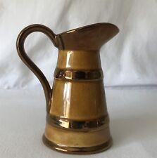 Vintage 11cm Jug / Pitcher Lord Nelson Ware Pottery EASTBOURNE Souvenir England