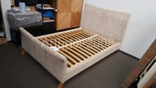 John Lewis Lincoln High End Bed Frame, Double,Mink RRP£999 (2067)